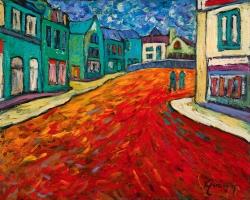 La rue du rouge plaisir - SB14-01