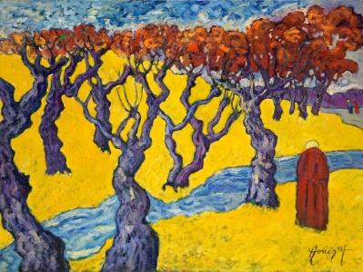 Les arbres joyeux dansant au grès du vent - PA16-08